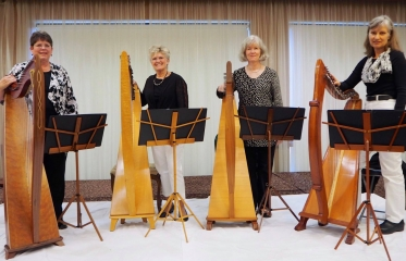 Salt City Harpers to Let Loose Lush Carpet of Four Majestic Instruments