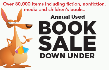 Annual Book Sale Down Under